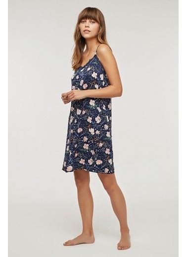 Penti Kadın Flowers In Sky  Ev Elbisesi PNBPSAKI20SK Renkli